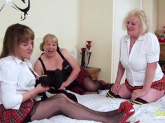 'OldNannY British Mature Ladies Pussy Treatment'